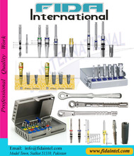 DENTAL IMPLANT SURGICAL KIT DENTAL IMPLANT DRILL BITS DENTAL IMPLANT TORQUE WRENCH DENTAL BONE EXPANDER KIT DENTAL UNIVERSAL KIT