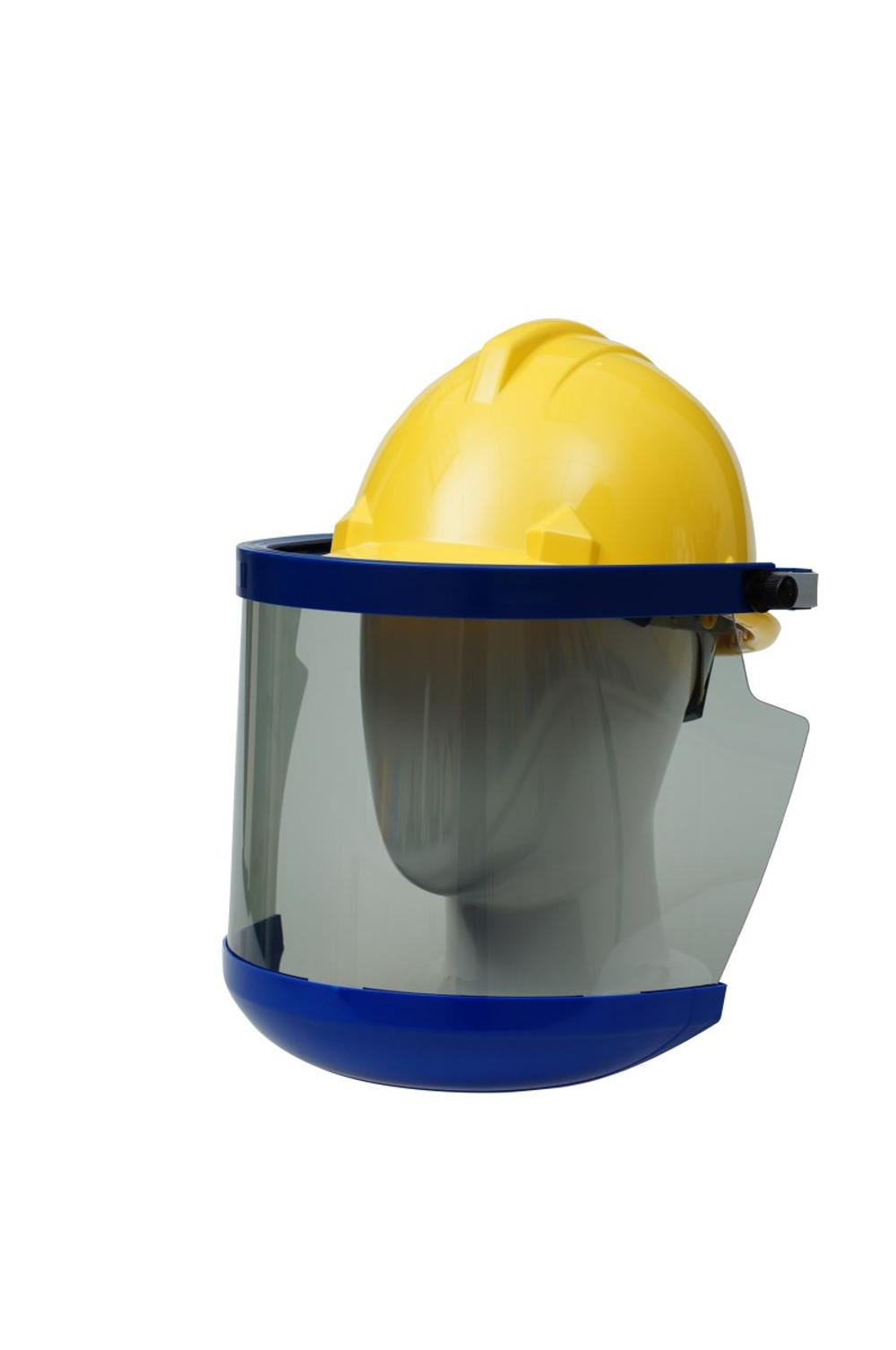 ASTM F2178 safety helmet arc flash protection pc visor with Chin protection -1