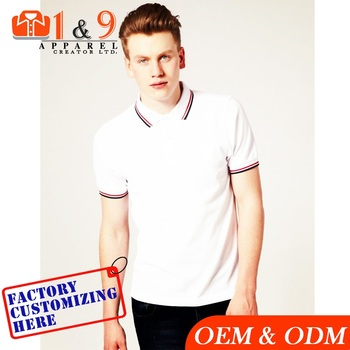 High Quality embroidery printed custom polo Shirt for men