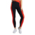 Women fitness black tights mesh leggings with pocket Pluscool sports