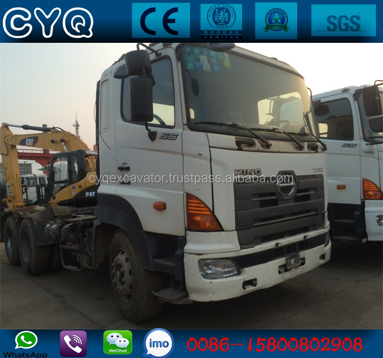 Used HINO 700 tractor truck head trailer for sale (whatsapp: 0086-15800802908)