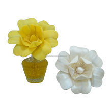 Handmade natural sola diffuser flower with cotton wick for decoration