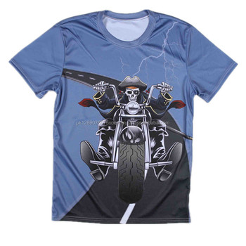 light blue sublimation print t shirts, sport sear printing man t shirts, branded quality hip hop sublimation shirts