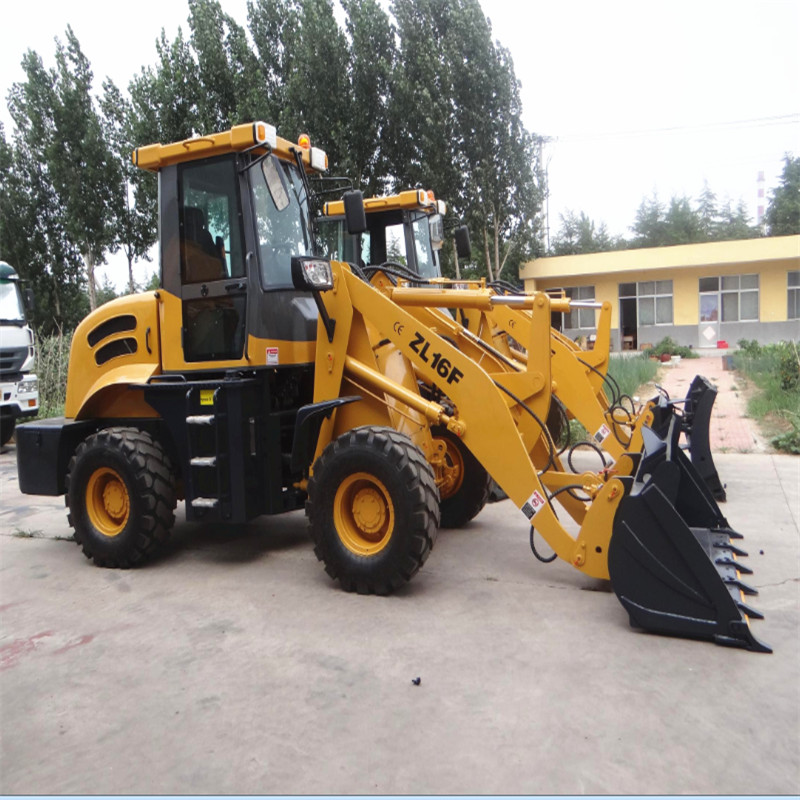 hydraulic drive front loader wheel type mini loader for sale