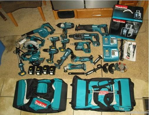 Original Makita power tools LXT1500 18-Volt LXT Lithium-Ion Cord-less 15-Piece