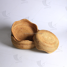 Wholesale rattan wicker cup holders, coasters