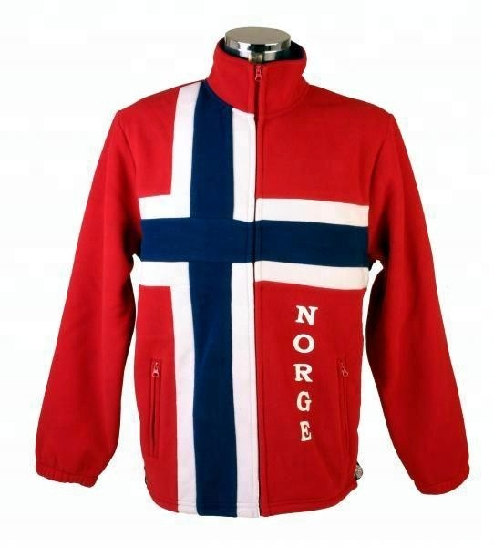 Soft Shell Jackets Norwegian Flags