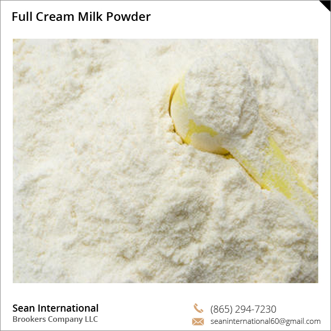High Quality Healthy and Tasty Full Cream Milk Powder at Best Prices