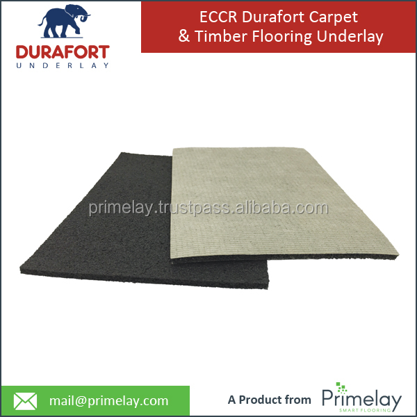 Crumb Rubber & Latex Carpet Underlayment - Soundproof Your Wood Floor