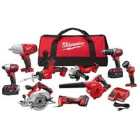 GENUINE Sales For Original Milwaukees 2695-15 M18 18V Cordless Lithium-Ion 15-Tool Combo Kit