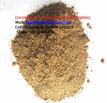 COPRA MEAL (COCONUT MEAL RESIDUE POWDER) FOR CATTLE FEED/POULTRY FEED