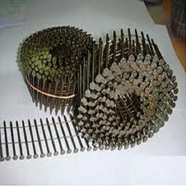 nail coil For nail guns used in pallets and wooden barrels in Vietnam