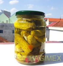 Gherkins and pickled baby cucumbers in jar - Cheap price & good quality!