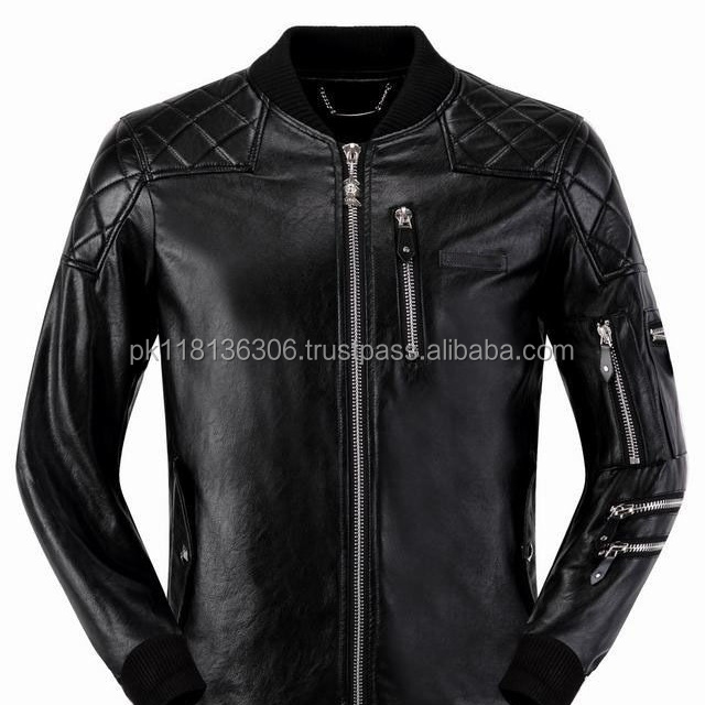 Men's Winter Fashion Faux Leather Jackets