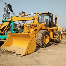 3.6 Bucket 966 Series Used Wheel Loader Construction Machinery With 3306 Engine