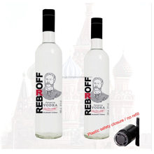 Vodka Rebroff in 1 L bottle - Excellent Russian Vodka