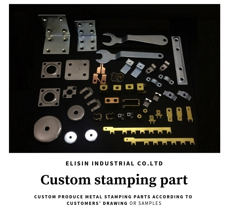 metal working service copper stamping electronics small part