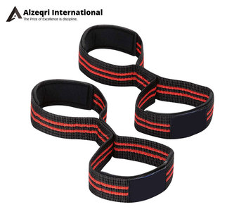 Custom Weight Lifting Figure 8 Straps
