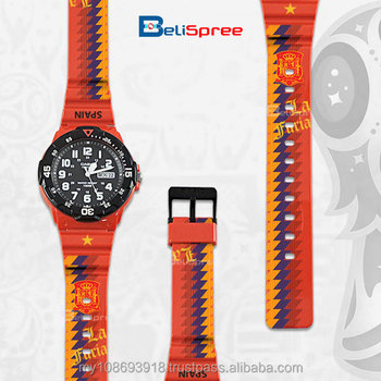 World Cup M Series Spain Analog Resin Watch
