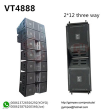 Vertec 3-way dual 12 inch Line Array VT4888