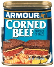 Armour Corned Beef 12oz, Case of 12