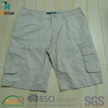 Cargo custom design short Slim-Fit Cargo Shorts for men casual short pants gym beach/formal wear