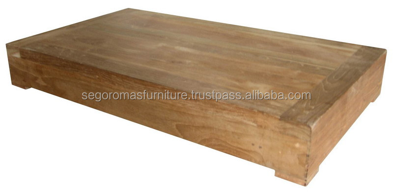 TEAK OUTDOOR FURNITURE - LOW COFFEE TABLE