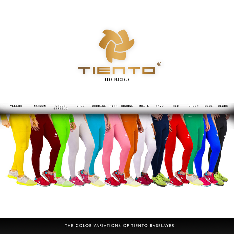 Tiento Unisex Baselayer Tight Compression Leggings Long Pants All Sports