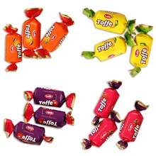 FRUIT FLAVORED SOFT TOFFEE CANDY FOR eid al-fitr Feist of Ramadan FROM TURKEY HALAL Confectionery