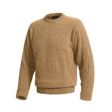 Hot sale striped Mens Round Neck Sweater