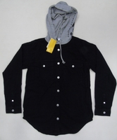New Fashionable surplus Mens Hooded Shirt for export
