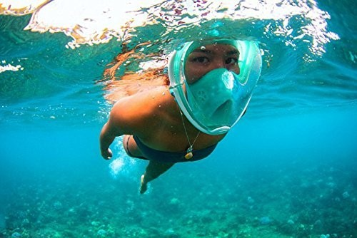 2017 New!Manufacture full snorkeling mask with CE certificate