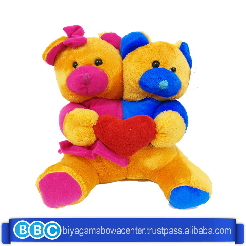 Top promotional aalibaba hot sale teddy bear Plush Lovely couple wedding return gift High quality gift