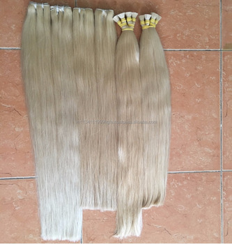 EKKOhair Vietnamese Blonde #613 Straight Hair 100% Human Hair Weaving 10''-30''Inches One Bundles Remy Hair Russian colors hair