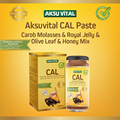 Weight Gain CAL PASTE Honey with Carob Royal Jelly Olive Leaf Food Super Appetite ...