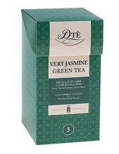 Diemme DTe Very Jasmine Green Tea 12 Tagged & Env. Tea Bags