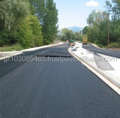 Asphalt Reinforcement Polyester ( PES / PET) Rolls PVC Coated - Tensile Strength 100/100