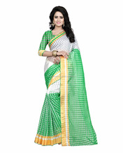 Fabpandora 832 Polly Cotton Designer Printed Saree