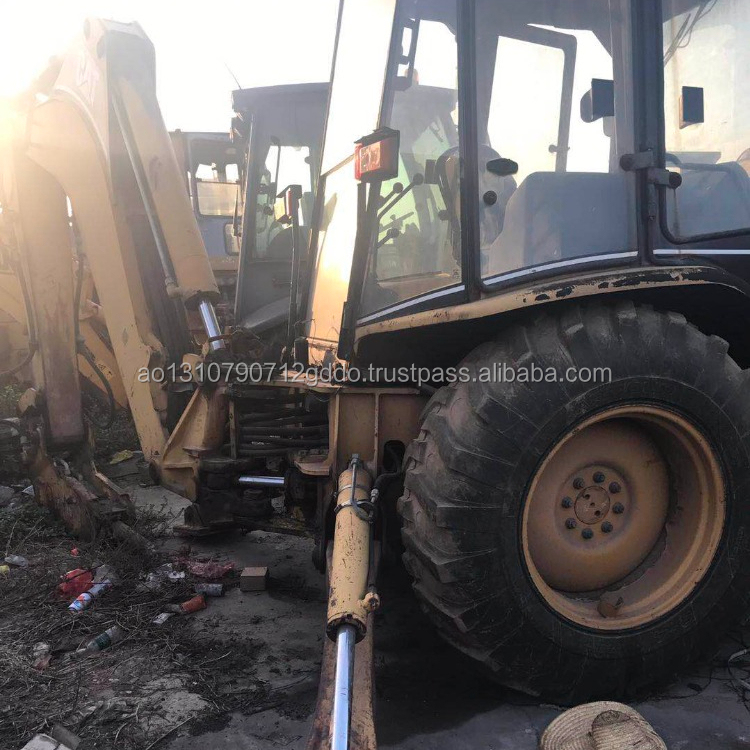 High Quality Used CAT Caterpillar 420E Backhoe Loader in Shanghai ,Used CAT 416 420 426 Backhoe Boader