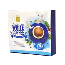Premium Grade 4 in 1 Instant White Coffee Powder with Edible Bird's Nest Malaysia