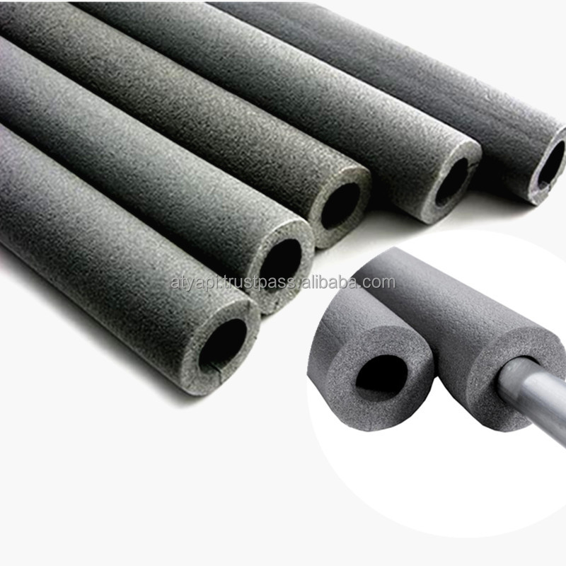 Elastic insulating foam tube