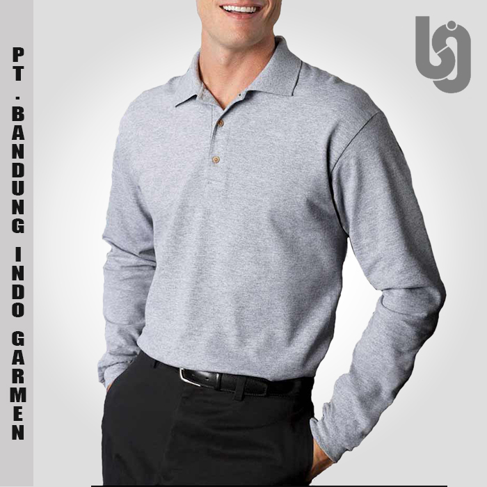 Cheap Long Sleeve Polo Shirt With Custom Embroidery | Wholesale