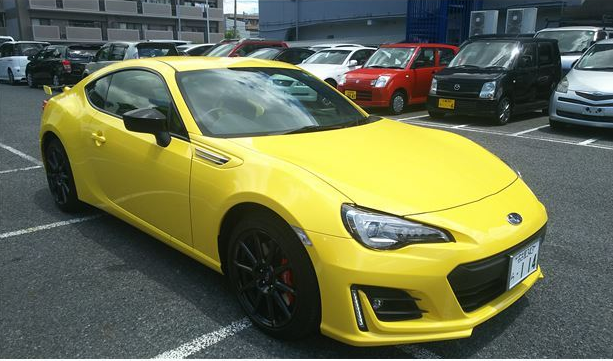 Second hand Sports car 2016 SUBARU BRZ GT from Japan RHD