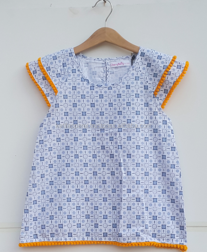 children girl cotton summer dress