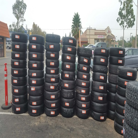 Good Quality Used Japanese Tires
