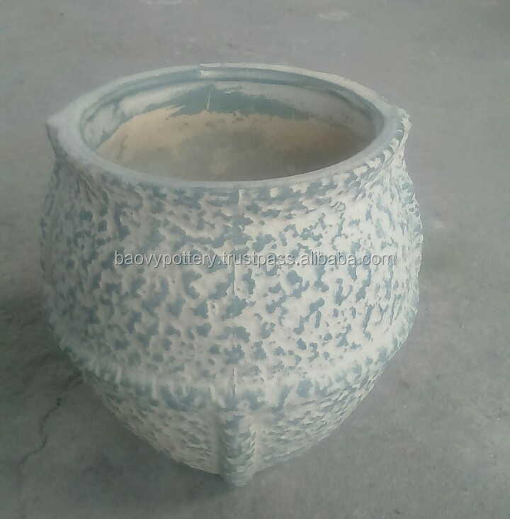 Vietnam small indoor ceramic pots - Indoor wash pots - Indoor pottery
