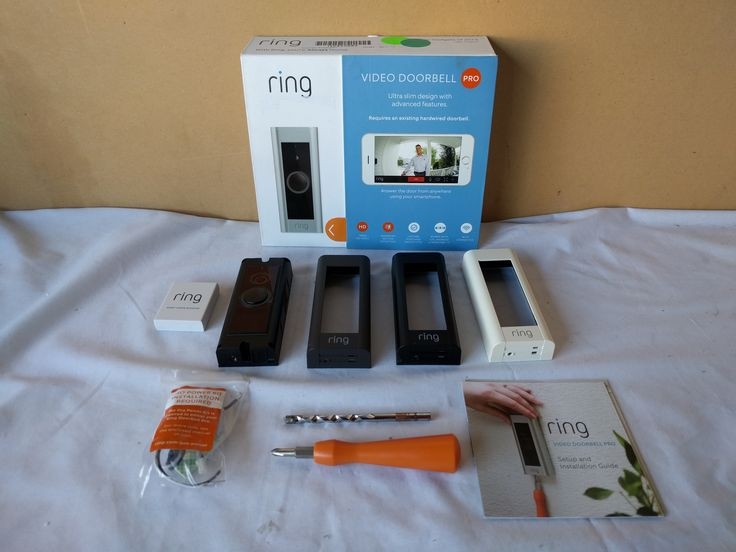 Ring Video Doorbell PRO, 1080 HD Video Wi-Fi BARELY USED, I pay shipping