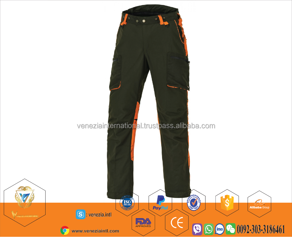 top quality Plain twill Tactical Hunting Cargo Pants