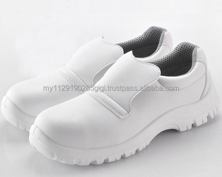Microfiber leather best alternative material of leather upper for boxter safety shoes (Size:UK2-13)