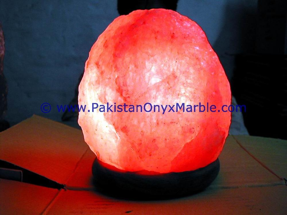 VARIOUS HEALTH BENEFITS HIMALAYAN CRYSTAL NATURAL SALT LAMP 2-3/ 3-5/ KG